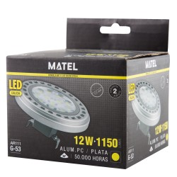 LAMPARA LED AR111 ALUM PC...